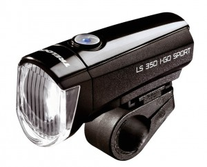 LED-Batterie-Leuchte Trelock I-Go Sport LS 350 schwarz mit Batterien