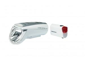 LED-Batt-Leuchte Set Trelock Control Ion LS 950/720 Ion 70 weiß m.Halter